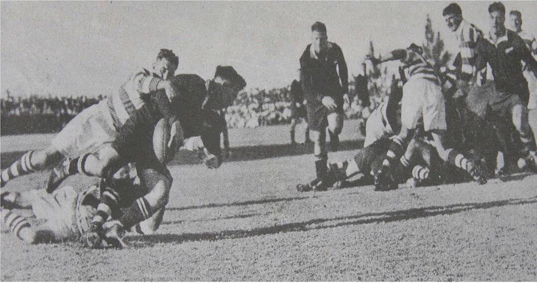 Rhodesia vs New Zealand All Blacks